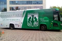 Oklejanie samochodów Warszawa - AZSAWF_autobus