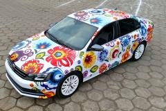 Oklejanie samochodów Warszawa - Mustasz_VW