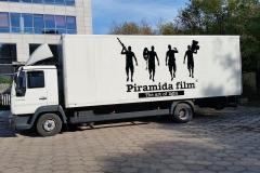 Oklejanie samochodów Warszawa - PiramidaFilms_ciezarowka