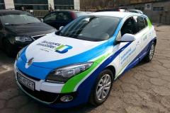 Oklejanie samochodów Warszawa - RenaultBI_reklama