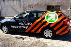 Oklejanie samochodów Warszawa - VIATOL_promocja