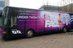 Oklejanie samochodów Warszawa - VIVA_autobus