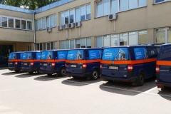Oklejanie samochodów Warszawa - Wodociagi_reklama