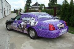 Oklejanie samochodów Warszawa - limo_cadillac